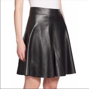 Bailey 44 Sedgwick Leather Skirt